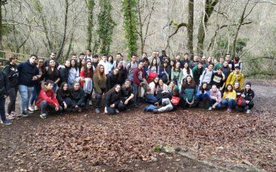 Encuentro de la asociación de jóvenes 'Dos o más' en Navarra