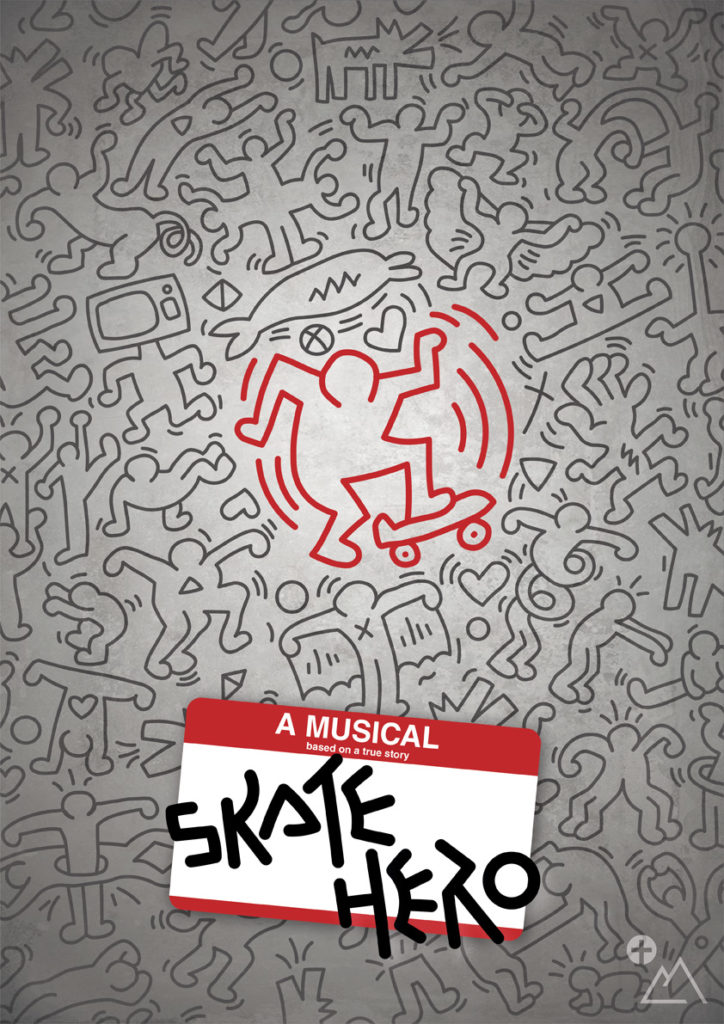 SAKTE HERO - Cartel del musical 2020