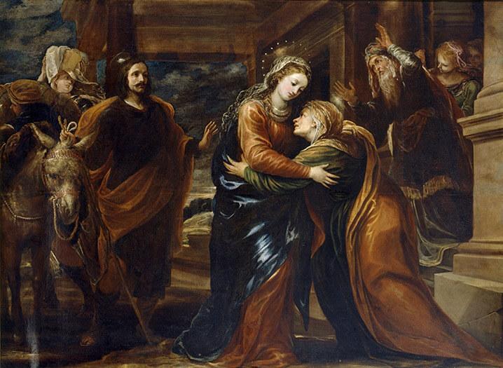 La Visitación. Francisco Rizi. Museo del Prado